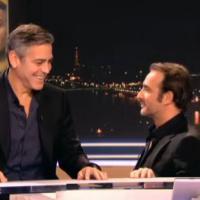 Jean Dujardin et George Clooney : délire entre amis au JT de 20 heures de TF1