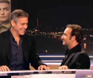 Jean Dujardin et George Clooney : en mode gags pour le journal de 20 heures sur TF1 ce mardi 4 mars
