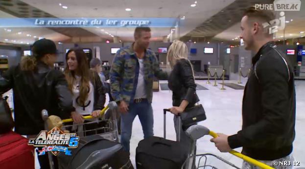 Les Anges 6 : les candidats se retrouvent à l'aéroport