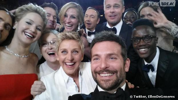 Le selfie des Oscars 2014 : la photo la plus populaire de 2014