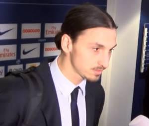 Zlatan Ibrahimovic tacle une journaliste après la victoire du PSG face à l'AS St-Etienne