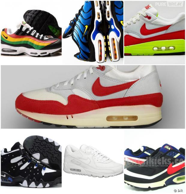 77874b051676 Air Max Day : retour sur 7 modèles mythiques de Nike, de 1987 à 2014