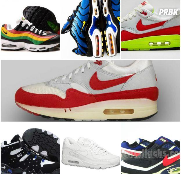 Air Max Day : retour sur 7 modèles mythiques de Nike, de 1987 à 2014