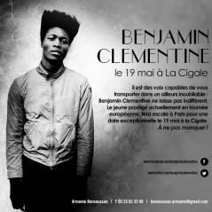 Benjamin Clementine le 19 Mai à la Cigale