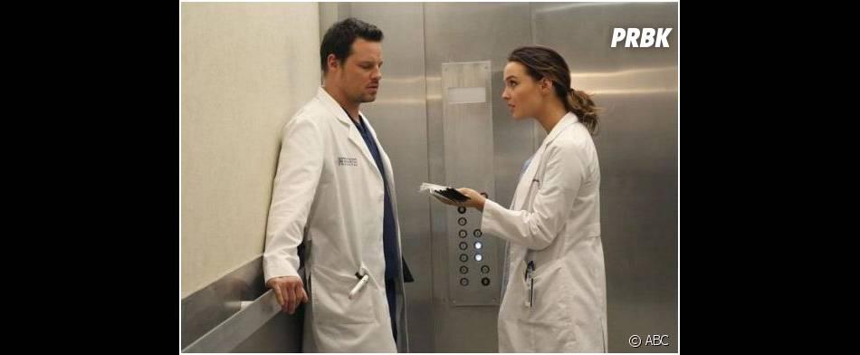 Grey's Anatomy saison 10, épisode 18 : Alex et Jo en pleine discussion