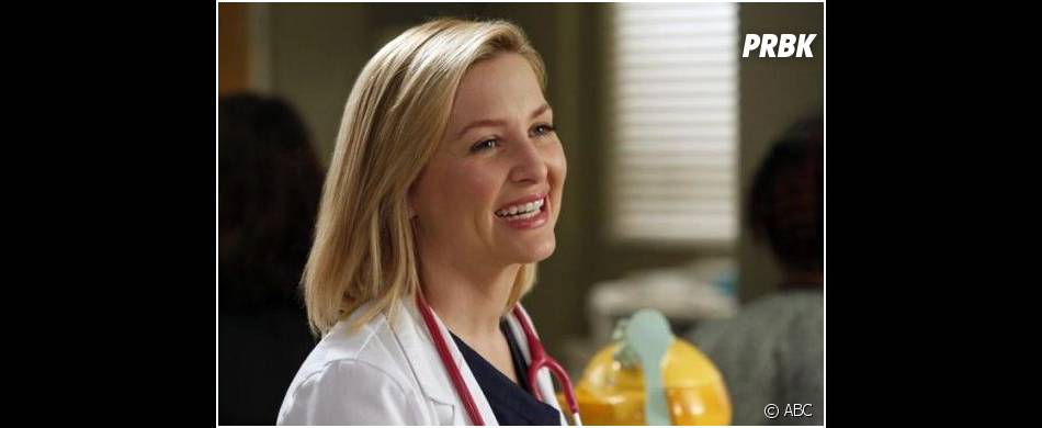 Grey's Anatomy saison 10, épisode 18 : Jessica Capshaw souriante