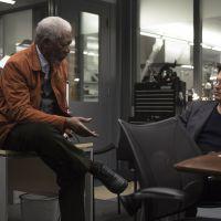 Transcendance : Johnny Depp et Morgan Freeman sur les photos