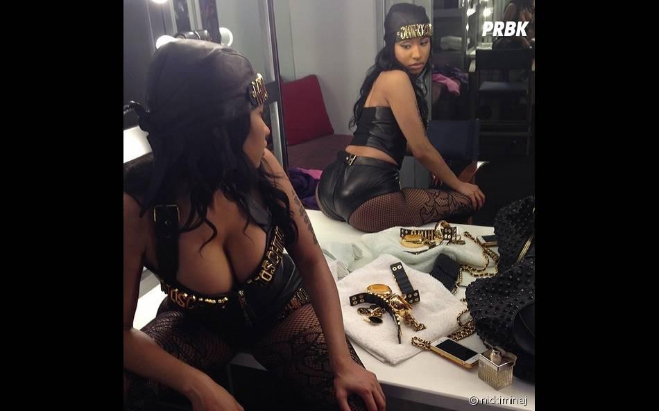 Nicki Minaj exhibe son popotin sur Instagram