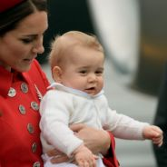 Kate Middleton : photos à croquer du Prince George pour son 1er voyage officiel