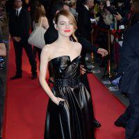 The Amazing Spider-Man 2 : Emma Stone sexy en cuir pour l'avant-première à Paris