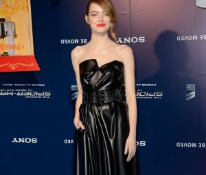 The Amazing Spider-Man 2 : Emma Stone en Lanvin à l'avant-première du film à Paris le 11 avril 2014