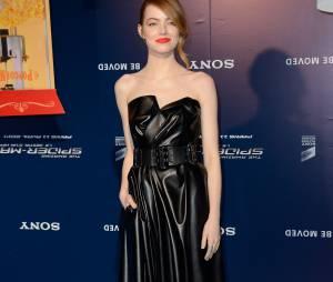 The Amazing Spider-Man 2 : Emma Stone en Lanvin à l'avant-première du film à Paris le 11 avril 2014
