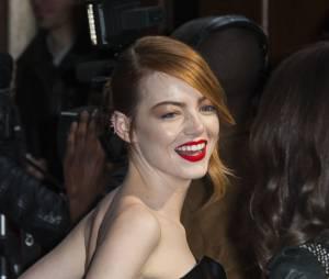 The Amazing Spider-Man 2 : Emma Stone sublime à l'avant-première du film à Paris le 11 avril 2014