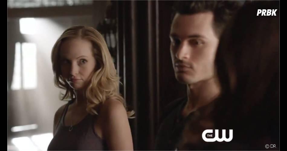Vampire Diaries saison 5, épisode 18 : Caroline et Enzo dans un extrait