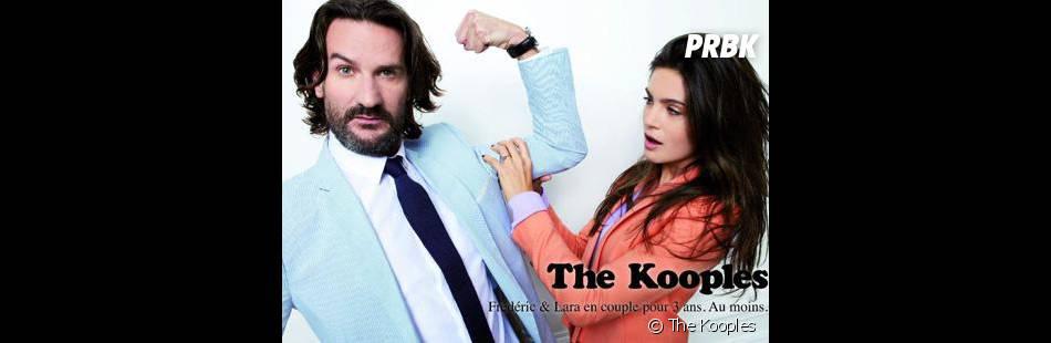 Frédéric Beigbeder et Lara Micheli : couple d'égéries pour The Kooples