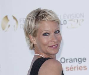 Rebecca Hampton sexy et souriante au festival de Monte-Carlo 2012