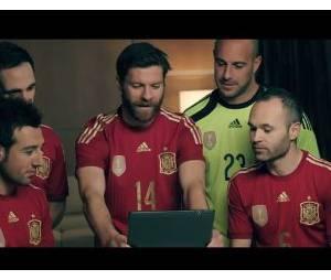 Andrès Iniesta, Xabi Alonso, Pepe Reina... : les stars de la Rajo réunies dans une pub originale