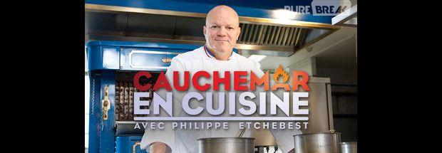 Philippe etchebest les mecs de top chef partent parfois en vrille purebreak - Cauchemar en cuisine peyruis ...