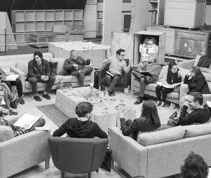 Star Wars 7 : première photo du casting et de J. J. Abrams