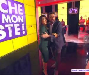 Eva Longoria danse la salsa avec Cyril Hanouna dans Touche pas à mon poste, le 13 mai 2014