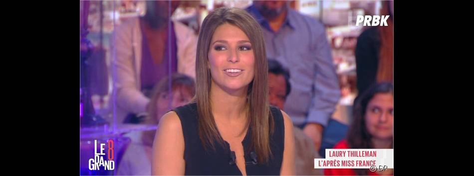 Laury Thilleman dans Le Grand 8 sur D8 le 14 mai 2014
