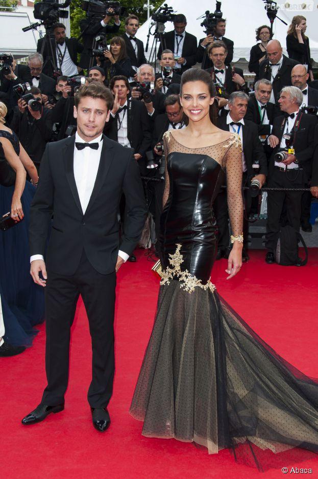 Marine Lorphelin accompagnée de Bastian Baker au Festival de Cannes 2014