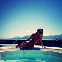 Tara Damiano sexy sur Instagram pendant son séjour à Cannes