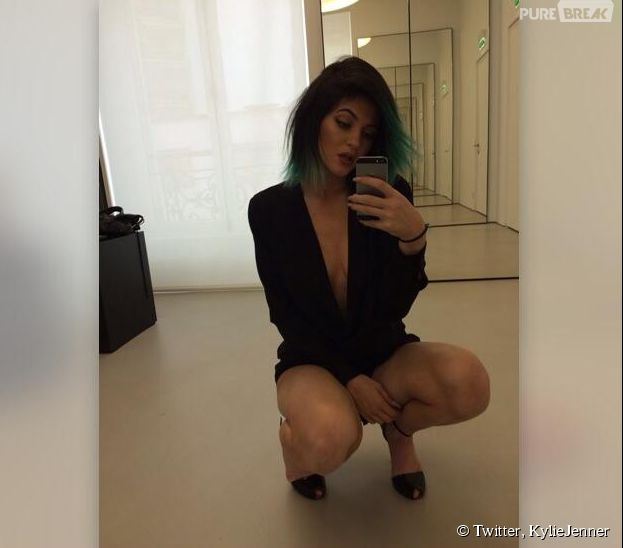 Kylie Jenner provocante sur Twitter