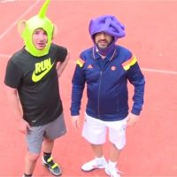 Michaël Youn VS Cyril Hanouna : match de tennis déjanté et pari gagné