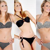 Marine Boudou, égérie sexy d'une marque de maillots de bain