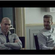 Zinédine Zidane et David Beckham réunis dans une pub Adidas avec une star du PSG
