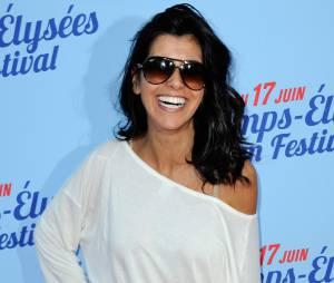 Reem Kherici à la première de Fast Life, pendant le Festival du film des Champs Elysées, le 11 juin 2014 à Paris