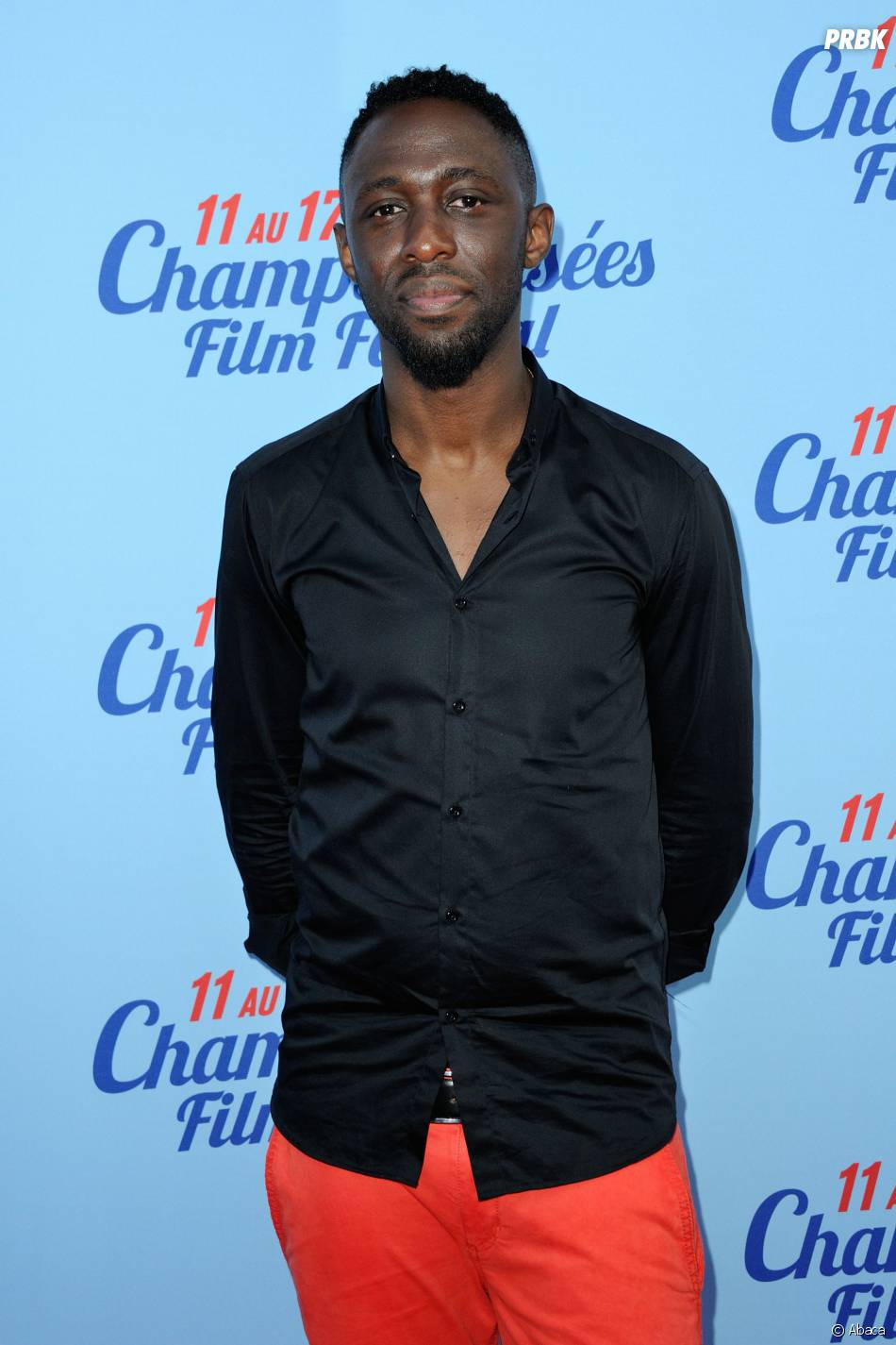 Thomas Ngijol à la première de Fast Life, pendant le Festival du film des Champs Elysées, le 11 juin 2014 à Paris