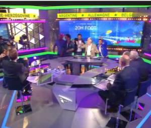 Cyril Hanouna, Jamel Debbouze et Michaël Youn mettent l'ambiance sur iTélé
