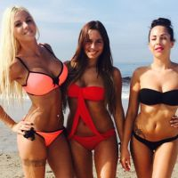 Jessica, Kim et Stéphanie (LCVSLM) trio sexy en bikini