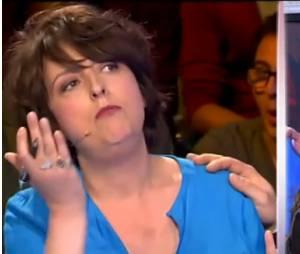 On n'demande qu'à en rire : Stéphanie Bataille n'a pas maché ses mots le 1er juillet 2014, face à Sarah Peb