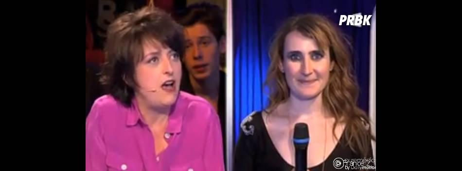 On n'demande qu'à en rire : Sarah Peb a retrouvé le sourire après les excuses de Stéphanie Bataille le 2 juillet 2014