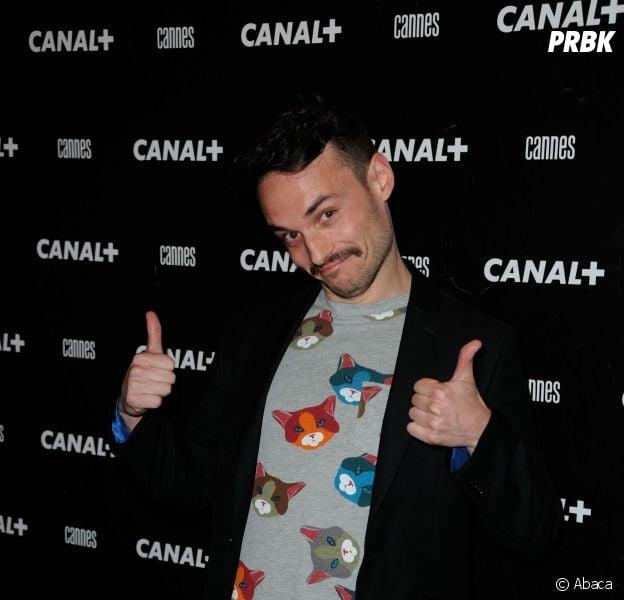 Jérôme Niel à la soirée Canal + au Festival de Cannes 2014, le vendredi 16 mai