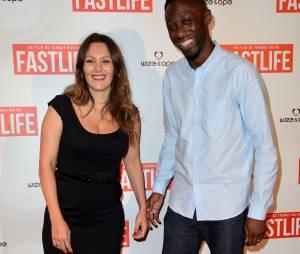 Karole Rocher et Thomas Ngijol à l'avant-première du film Fastlife réalisé par Thomas Ngijol, le 15 juillet 2014 à Paris