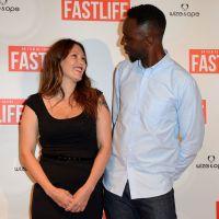 Thomas Ngijol et Karole Rocher amoureux à l'avant-première de Fastlife
