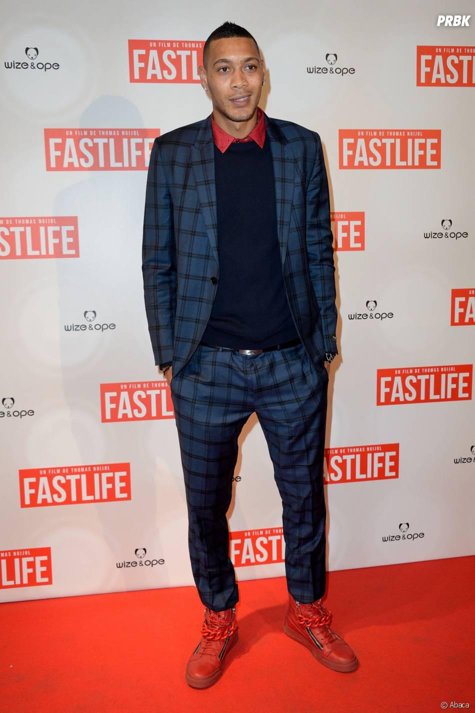 Guillaume Hoarau à l'avant-première du film Fastlife réalisé par Thomas Ngijol, le 15 juillet 2014 à Paris