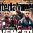 Avengers 2 en couverture du magazine Entertainment Weekly