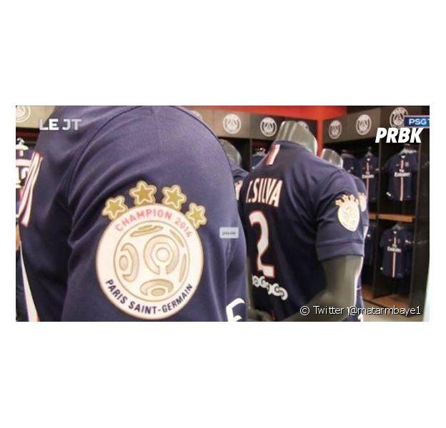 PSG : les étoiles du nouveau maillot font polémique