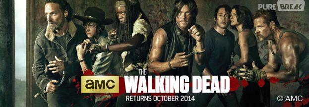 The Walking Dead saison 5 : premier poster