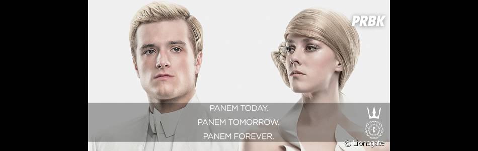 Hunger Games 3 : Peeta et Johanna au Capitole