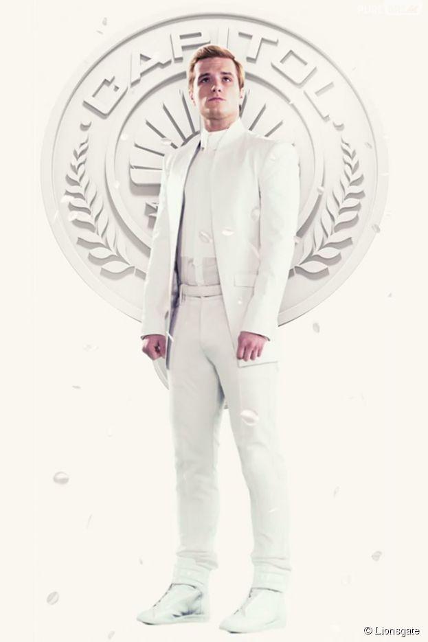 Hunger Games 3 : affiche avec Peeta (Josh Hutcherson)
