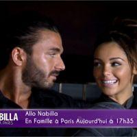 Nabilla Benattia : surprise et déclaration d'amour à Thomas dans Allo Nabilla