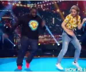Joy Esther et Issa Doumbia dansent dans Vendredi tout est permis, le 25 juillet 2014