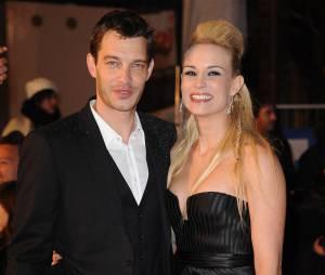 Elodie Gossuin et son mari Bertrand prennent la poste aux NMA 2012