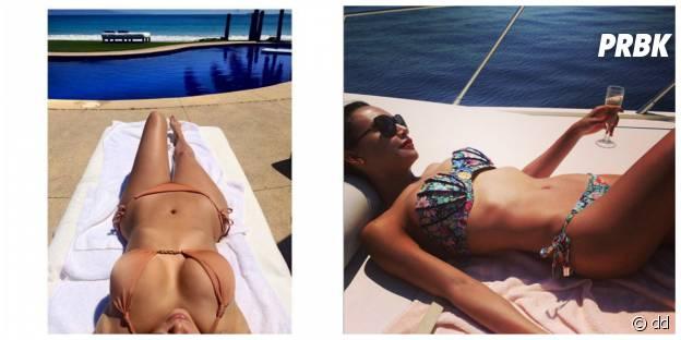 "Naya Rivera et Kim Kardashian : la pose ""regardez mon corps de rêve"""